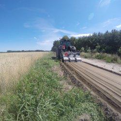 Naprawa drogi gruntowej